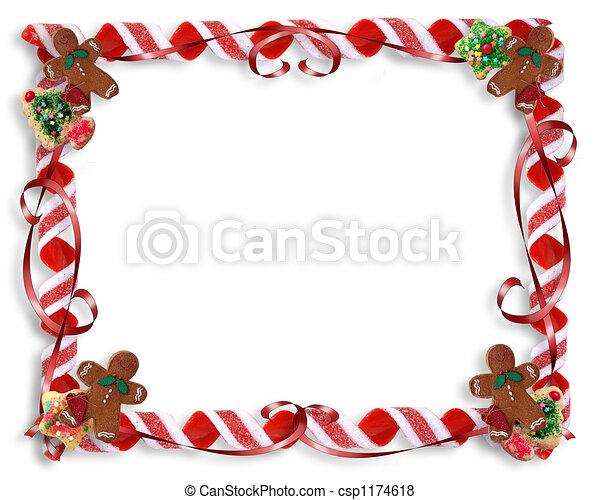 Christmas Treat Border - csp1174618