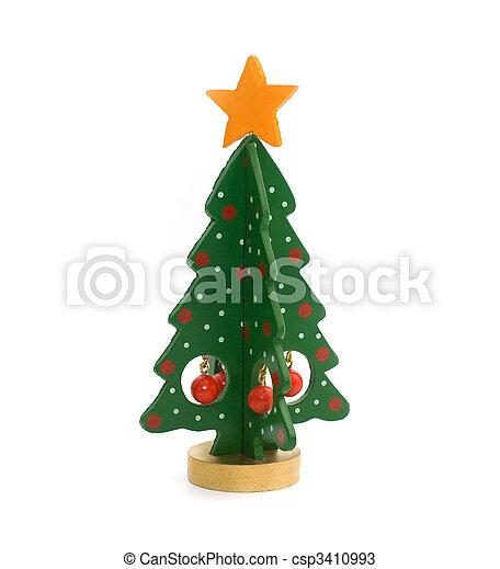 christmas tree 2 - csp3410993