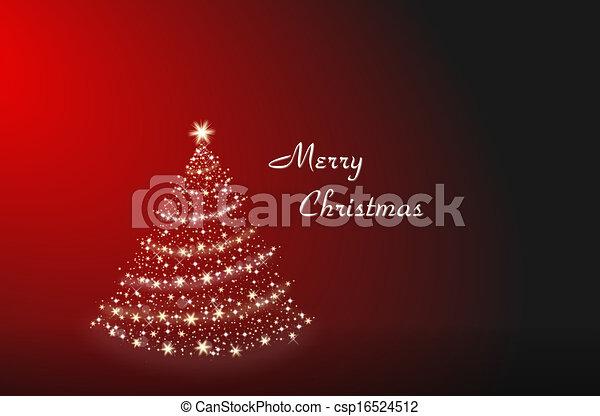 Christmas tree alone - csp16524512