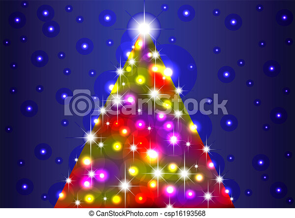 christmas tree - csp16193568