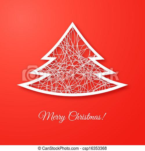 Christmas tree - csp16353368