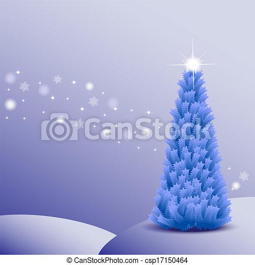 Christmas tree - csp17150464