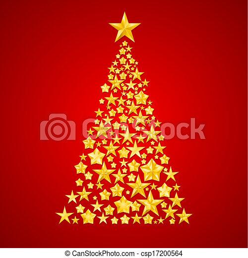 Christmas  tree. - csp17200564
