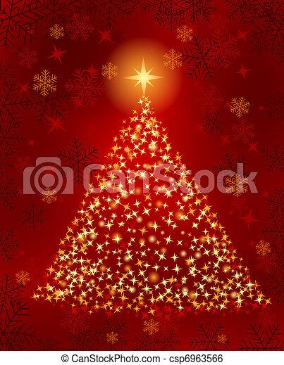 Christmas tree - csp6963566
