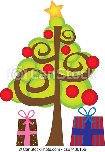 christmas tree csp7486166