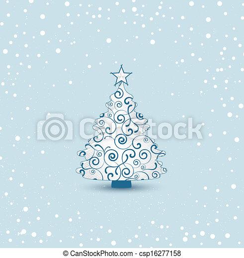 Christmas tree - csp16277158