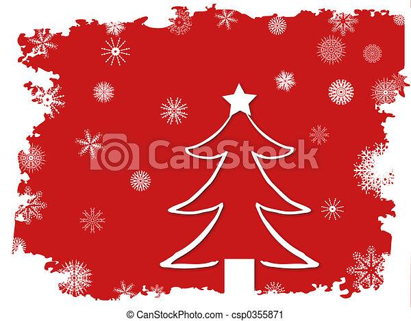 Christmas tree - csp0355871