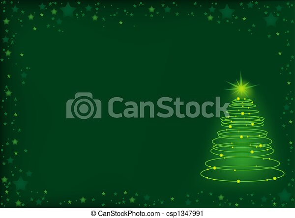 Christmas tree - csp1347991