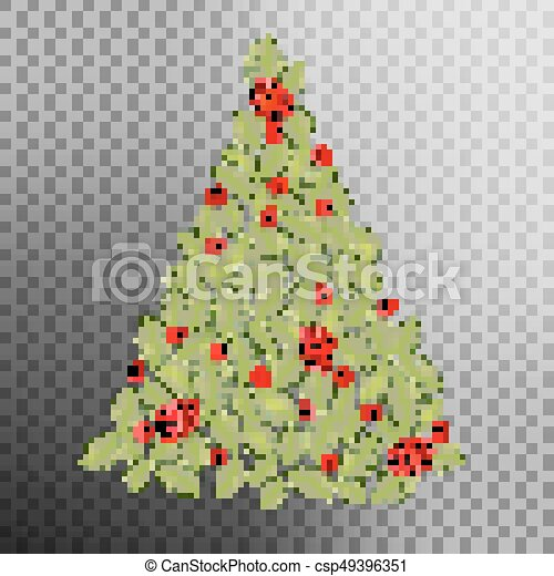 Christmas Tree Concept Eps 10 Vector Christmas Tree Concept From