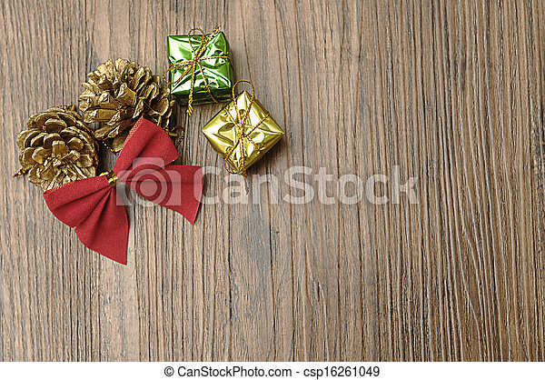 Christmas tree decorations - csp16261049