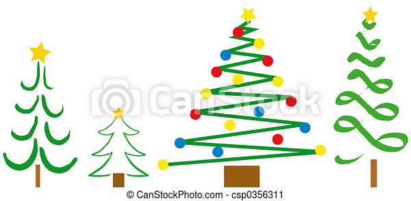 christmas tree designs csp0356311 - Christmas Tree Designs