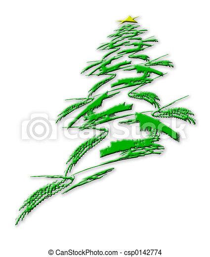Christmas Tree - csp0142774