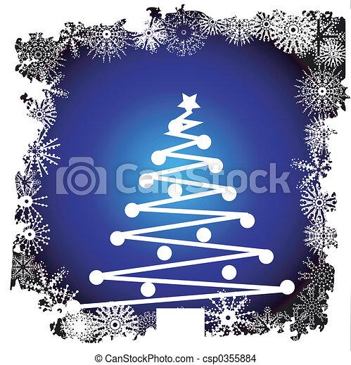 Christmas tree - csp0355884