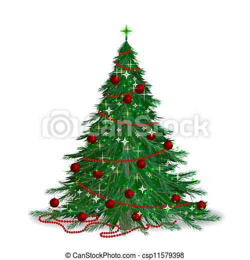 Christmas tree - csp11579398