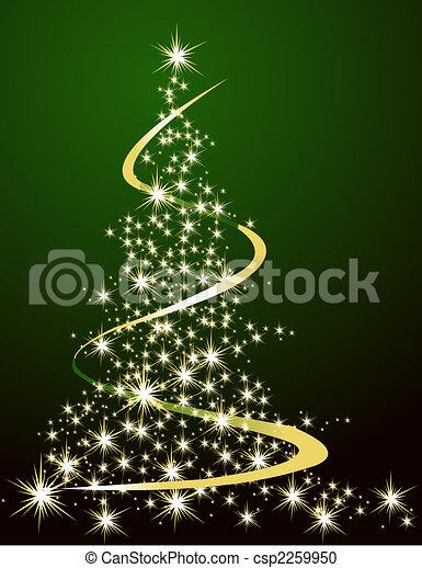 Christmas tree - csp2259950
