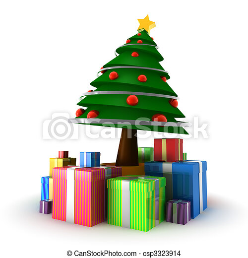 Christmas Tree - csp3323914
