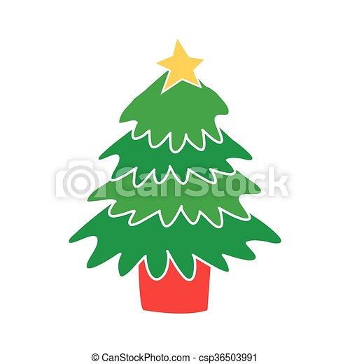 Christmas Tree - csp36503991