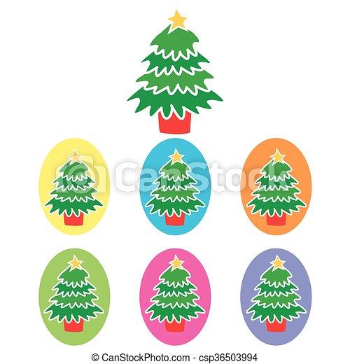 Christmas Tree - csp36503994