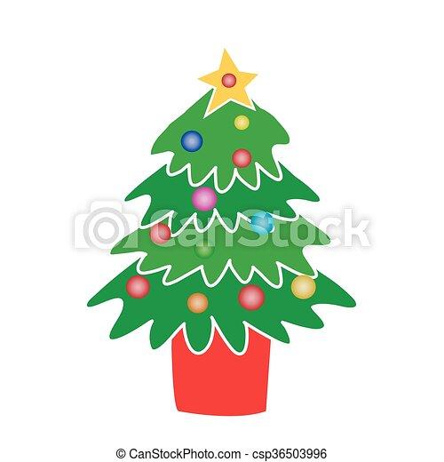 Christmas Tree - csp36503996