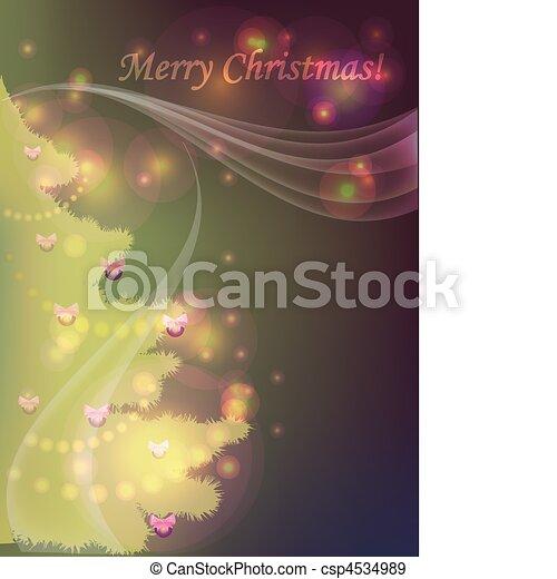 Christmas tree - csp4534989