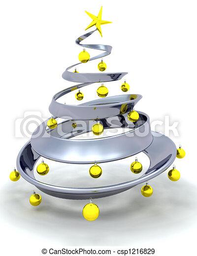 Christmas tree - csp1216829