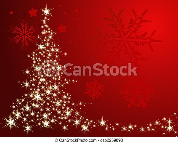 Christmas tree - csp2259893