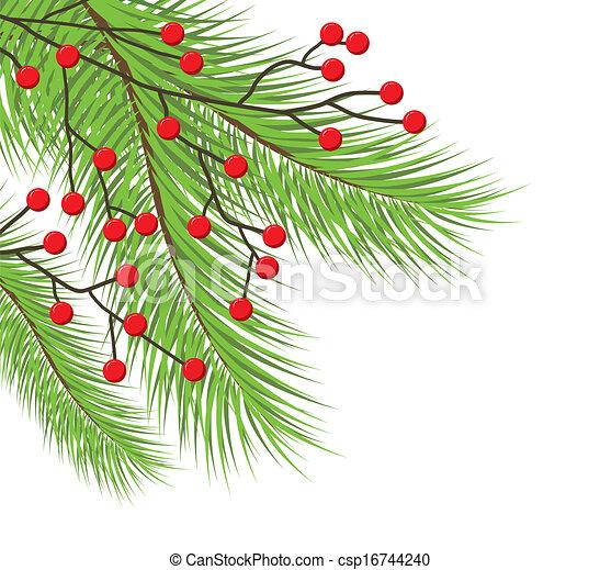 Christmas tree - csp16744240