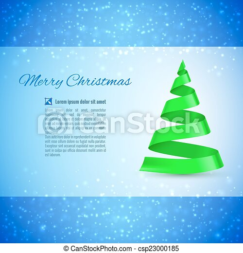 Christmas tree - csp23000185