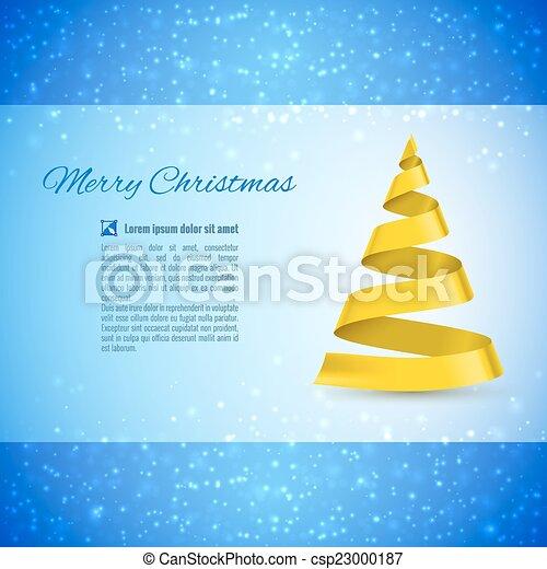 Christmas tree - csp23000187