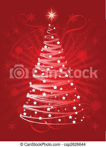 Christmas tree - csp2626644