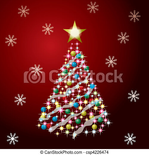 Christmas Tree - csp4226474