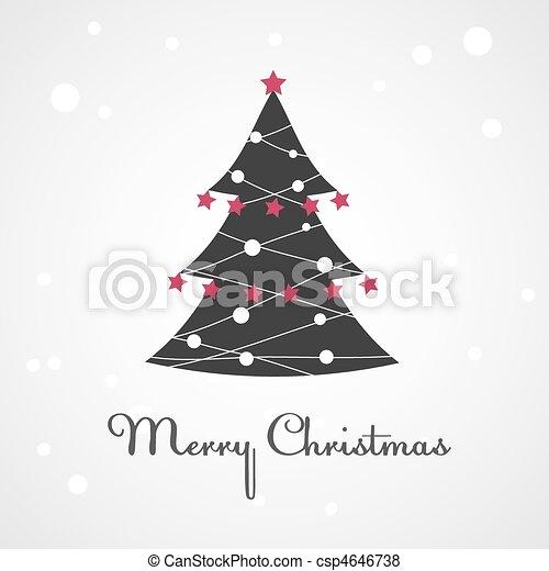 Christmas tree - csp4646738