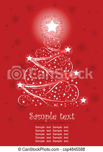 Christmas tree - csp4845588