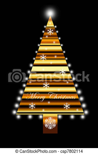 Christmas Tree - csp7802114