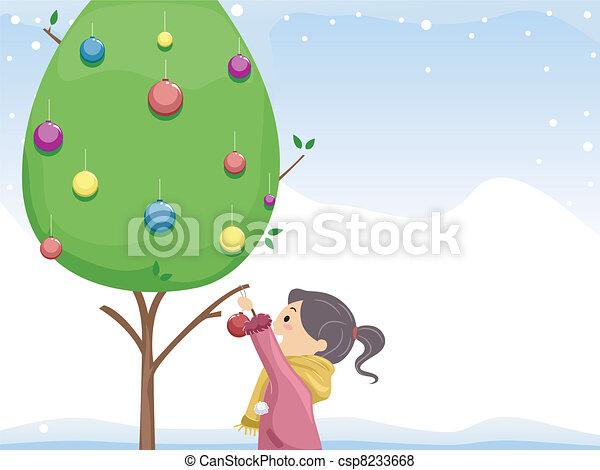 Christmas Tree - csp8233668