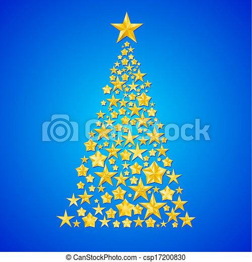 Christmas  tree. - csp17200830