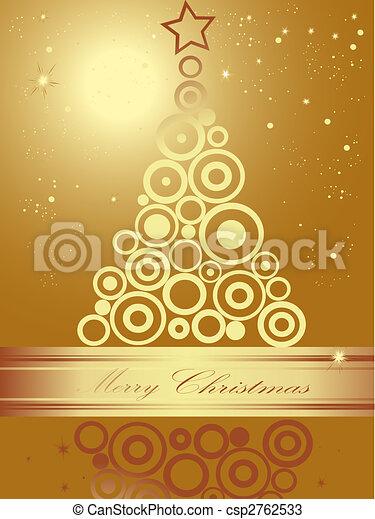 Christmas tree - csp2762533