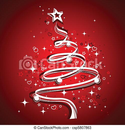 Christmas Tree - csp5807863