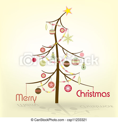 Christmas Tree - csp11233321