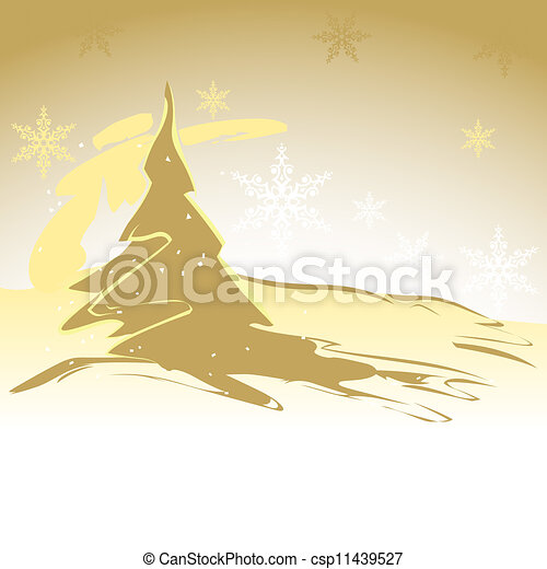 Christmas Tree - csp11439527