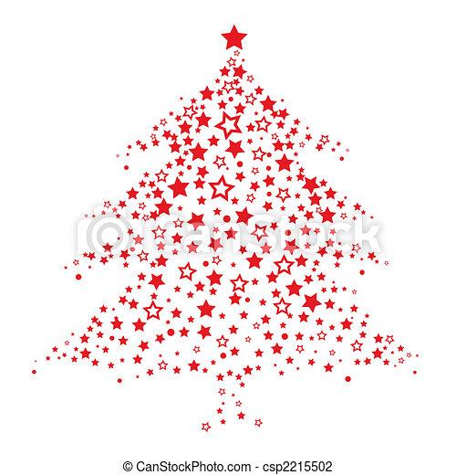 Christmas Tree Pattern.Christmas Tree