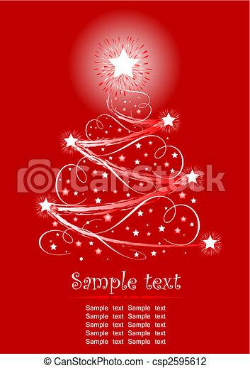 Christmas tree - csp2595612