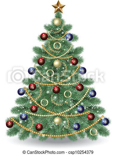 Christmas Tree - csp10254379