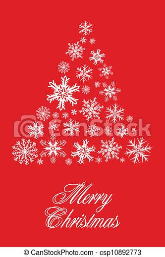 christmas tree - csp10892773
