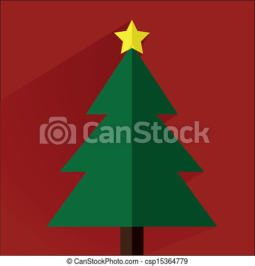 christmas tree - csp15364779