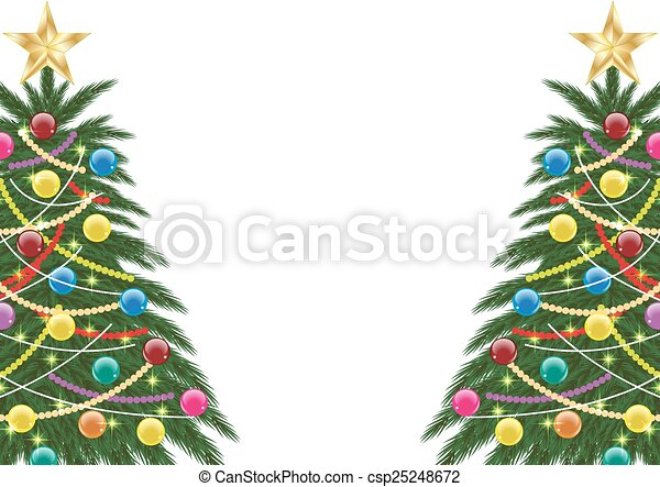CHRISTMAS TREE - csp25248672