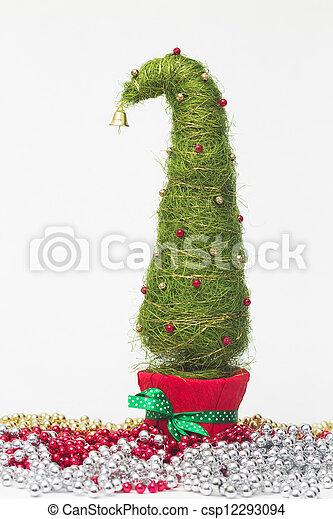 Christmas tree made of sisal - csp12293094