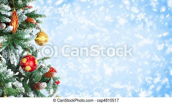 Christmas Tree - csp4810517