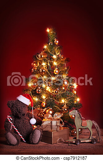 Christmas tree - csp7912187