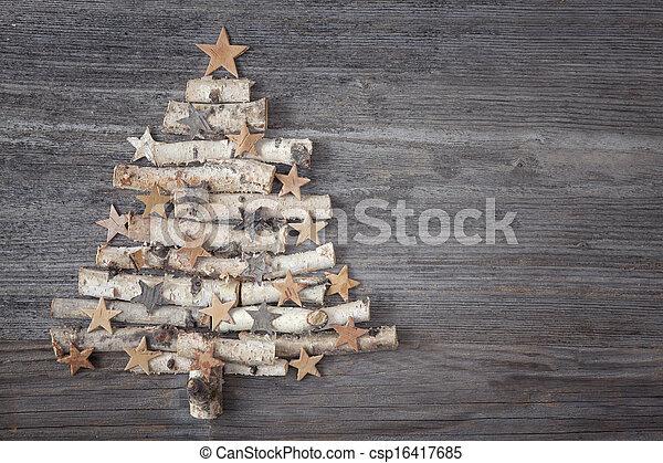 Christmas tree - csp16417685